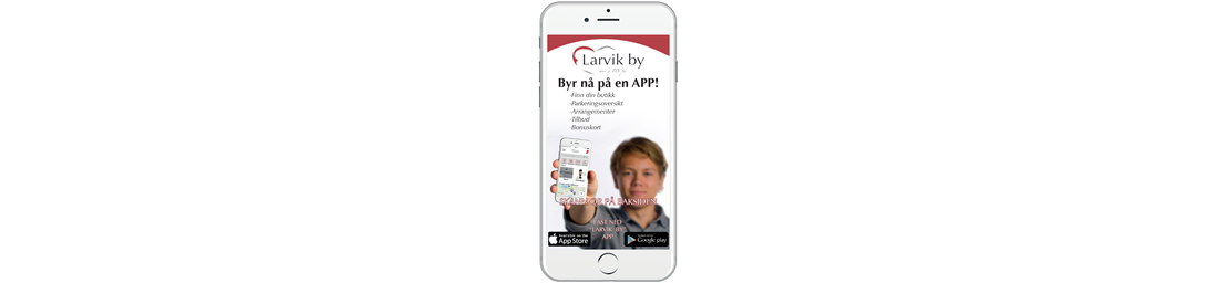 App for Larvik by